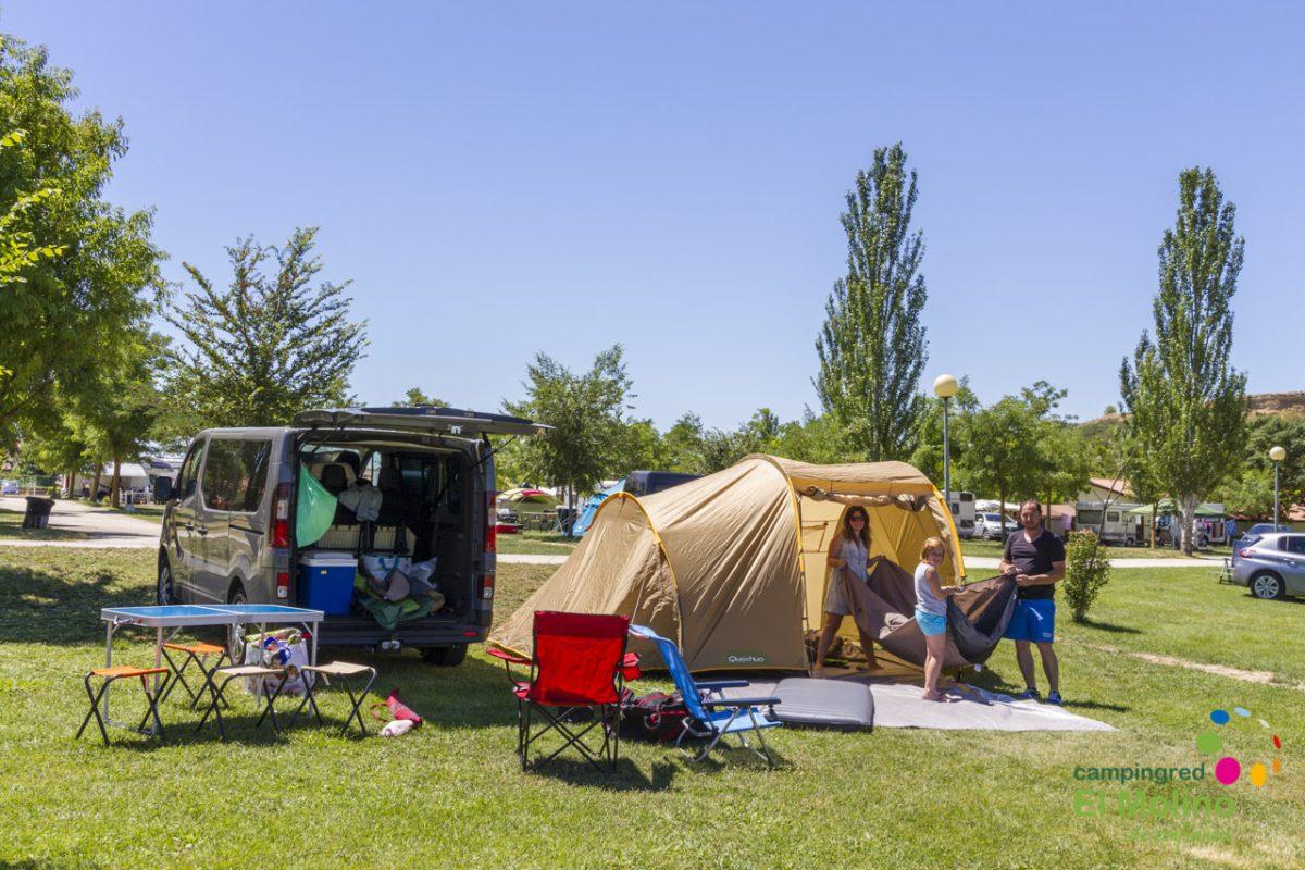 Primavera y aventura en Camping El Molino