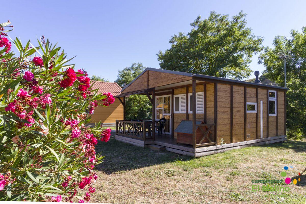 Durmiendo en el paraíso de Navarra, bungalows cerca de Pamplona