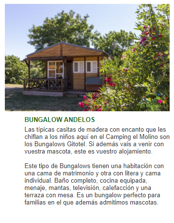 Bungalow Navarra