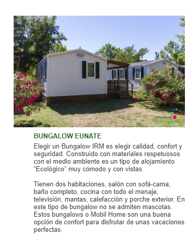 Bungalows Pamplona