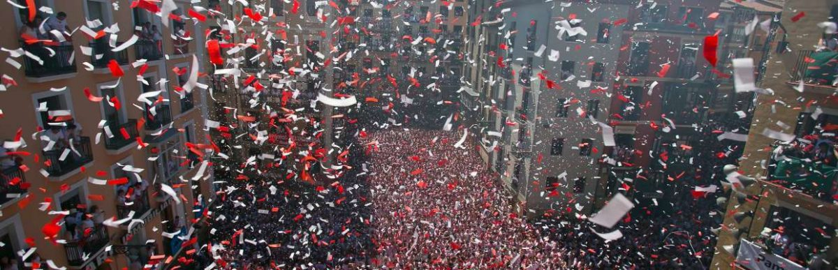 6 días para que estalle la fiesta. ¡Viva San Fermín!