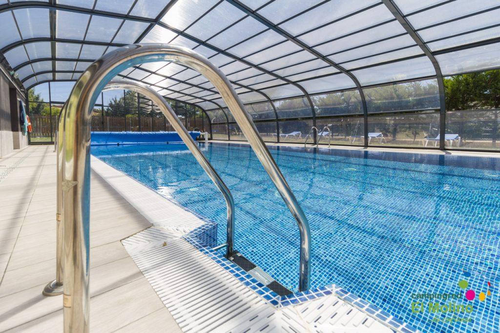 piscina spa Camping El Molino
