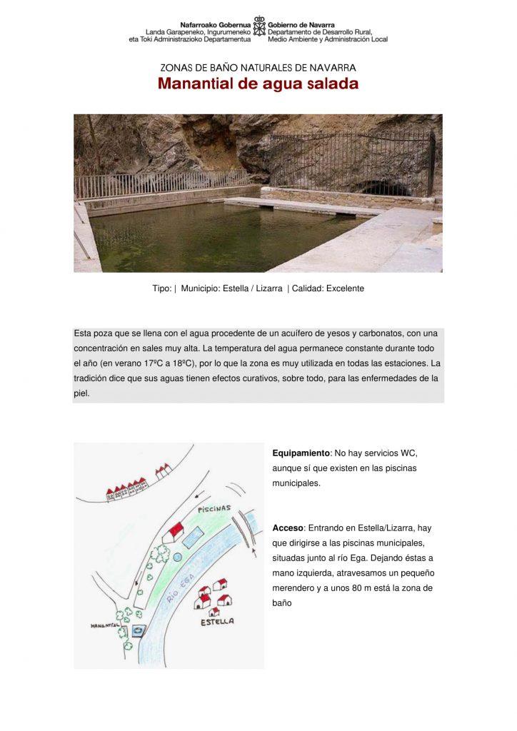 zonas baño Navarra
