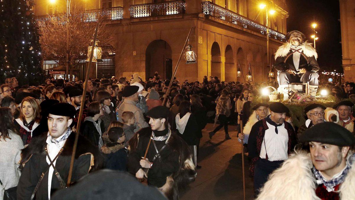 Tradiciones Navarras, el Olentzero