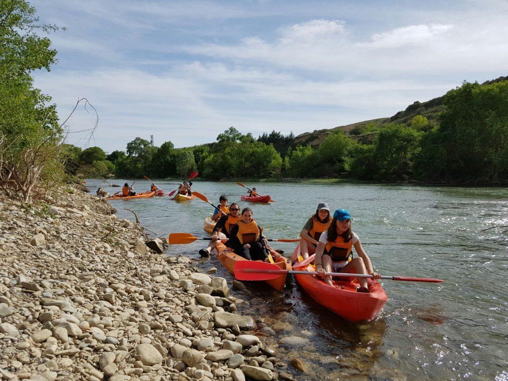 embarcadero río Arga