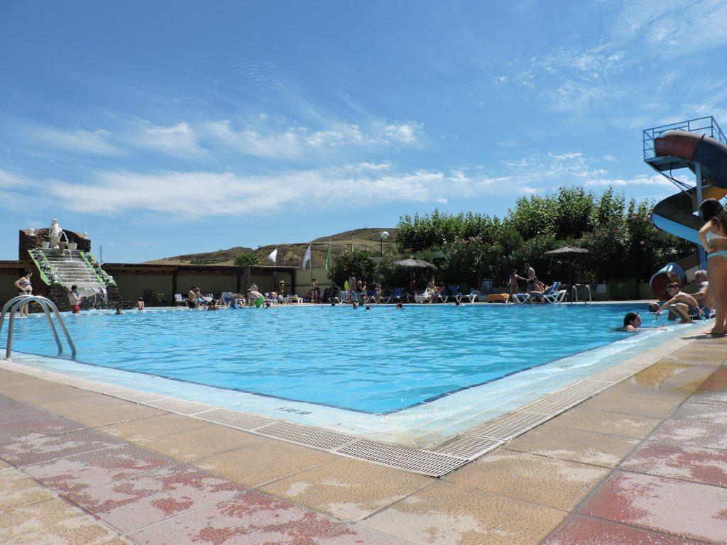 piscina abierta