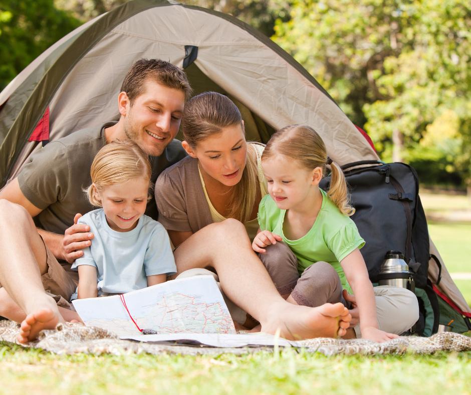 4 juegos de camping para disfrutar en familia
