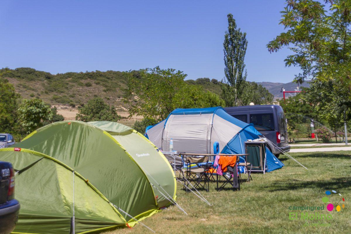Agosto y camping en Navarra