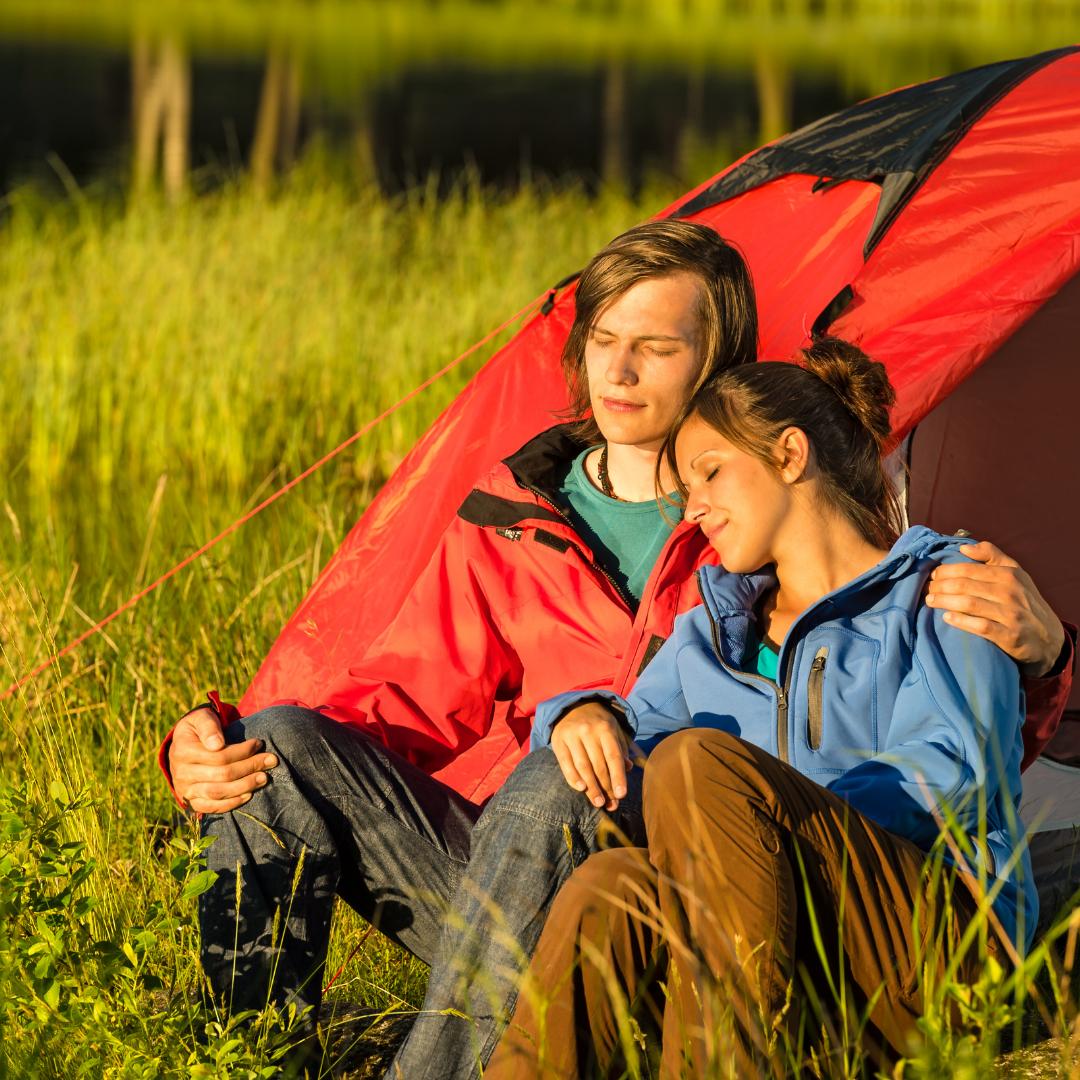 De camping en primavera, la mejor opción para tus sentidos